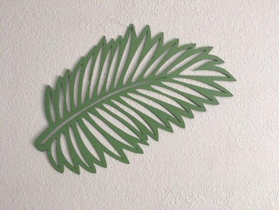Palm Leaf  -  Metal Plam  - Metal Art  - Home Decor -