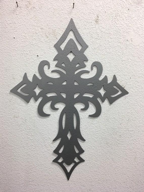 Celtic Cross  - Church Cross  - Home Decor  -  Metal Wall Art