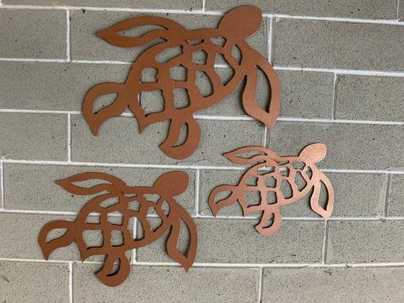 Sea Turtles  - Turtles - Home Decor - Metal wall Art - Metal Art