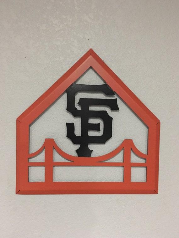 San Francisco Giants - Home Decor - Wall Hanging - Metal Art
