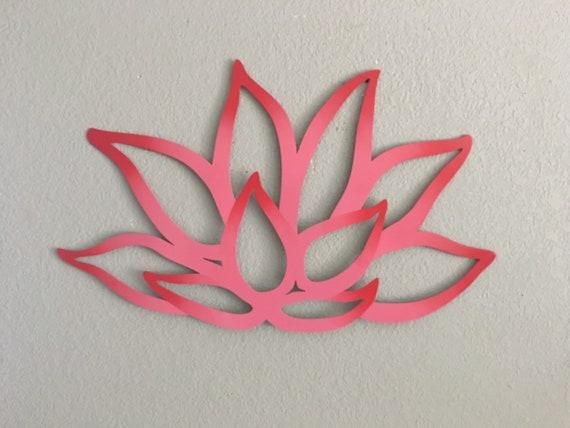 Beautiful Lotus Flower - Lotus Flower - Metal Flower - Metal Wall Art - Home Decor