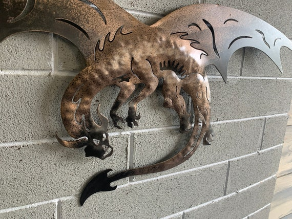 Dragon of  Steel Metal Art