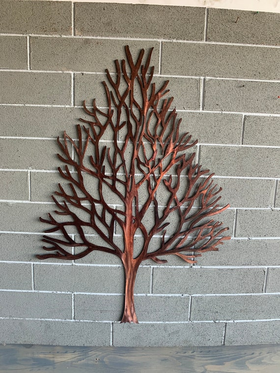 Winter Maple Tree - Metal Tree - Home Decor - Wall Hanging - Metal Art