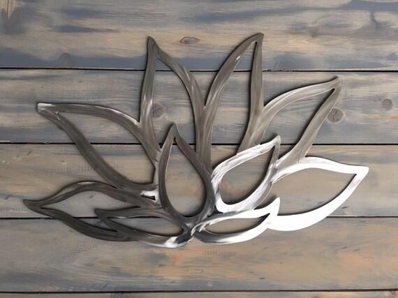 Stainless Steel Flower - Lotus Flower - Home Decor  - Metal Art Hanging