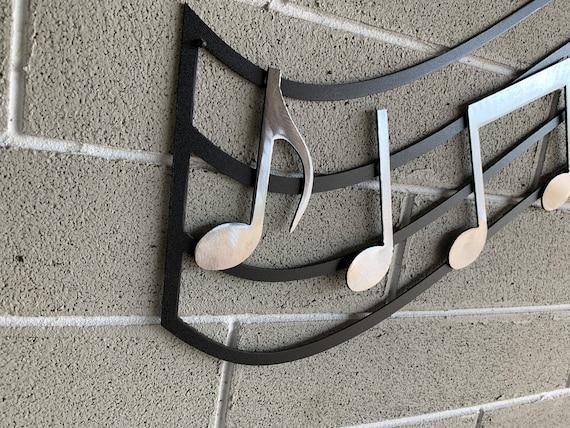 Metal music wall art    Hanging Music Art