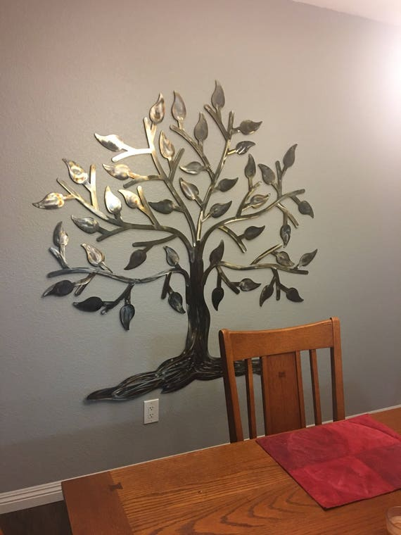 """Tree of life - 60"""" x  60""""  -   Stainless steel tree   - Home Decor   -"""