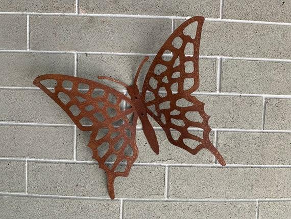 Rustic Metal Butterfly - Home Decor - Wall Art - Metal Art  - Wall Hanging