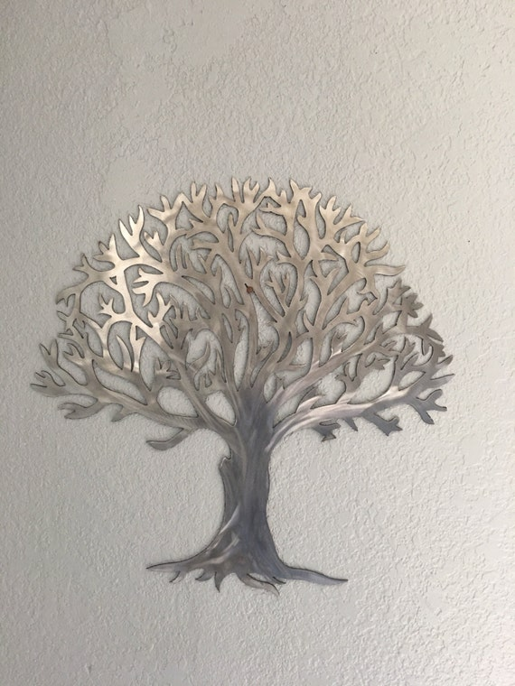 Metal tree-Stainless steel tree- wall art- wall decor