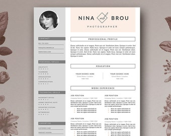 stylish resume templates word