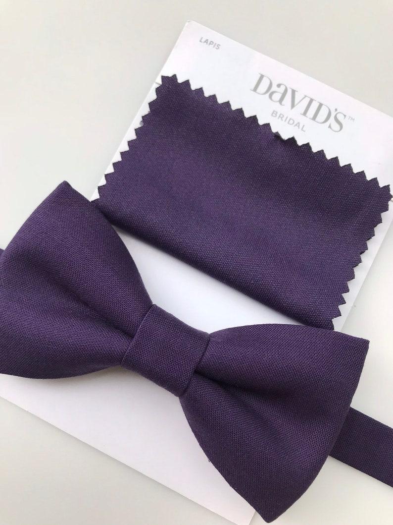 50efb84cbf79 Purple bow tie. Purple baby bow tie. Purple man bow tie. Lapis | Etsy