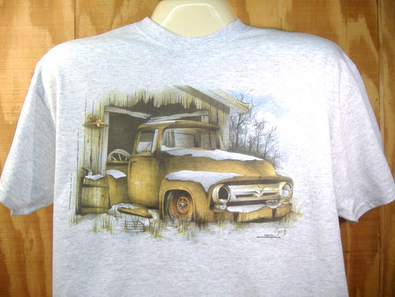 Ford /'53-/'56 Pickup F100 Barn Find Truck T-shirt Small to 5XL