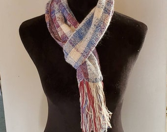 Handwoven Cashmere and Silk Scarf