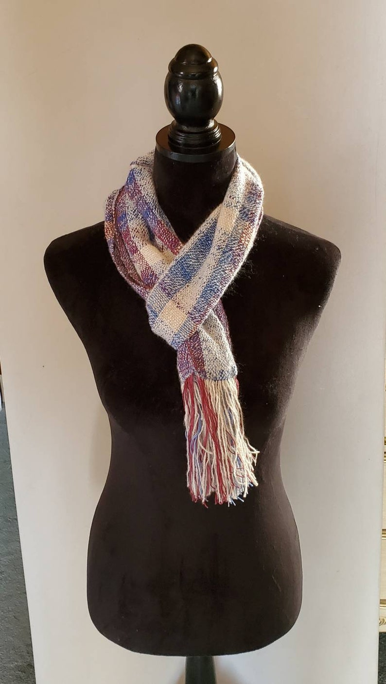 Handwoven Cashmere and Silk Scarf image 0