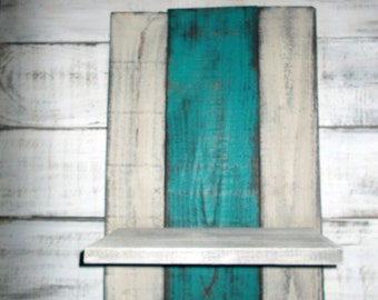 Rustic Wood Shelf, Wooden Shelf, Rustic Shelf, Farmhouse Style Shelf, Reclaimed Wood Shelf, Wood Shelf, Shabby Chic, Rustic Kitchen Decor