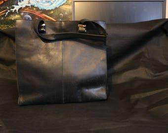 Pied A Terre Leather Handbag