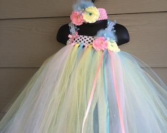 Birthday wedding christmas flower girl dress 0m-5T holidays fancy Tulle pink black