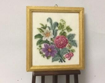 DOLLHOUSE Miniatures 1:12 Scale #1 Miniature Boxed Silk Embroidery Thread