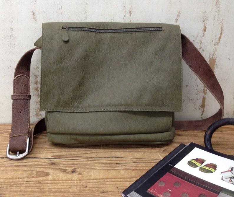 d068a32ddb04 Sale Mens leather messenger bag Leather crossbody bag