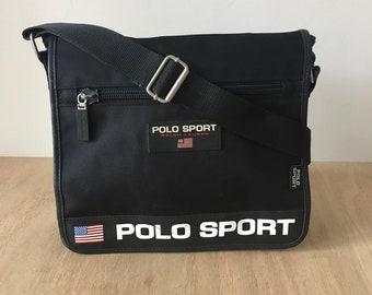 Vintage Polo Sport Bag Ralph Lauren Polo sport bag travel bag vintage bag  90s Bag Cross Body 7ea6720358