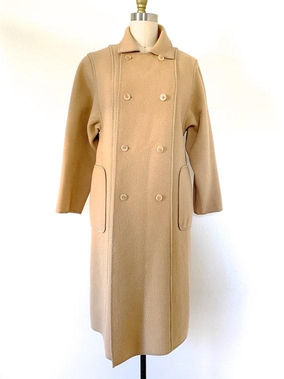 Blanket Coat Vintage WETHERALL All Wool Winter Coa