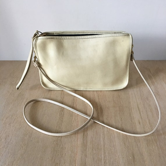 Coach Purse Made in New York City Envelope bag Vintage Coach  f247d1a29558a