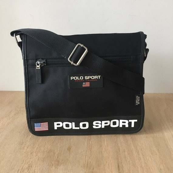 9262b539a18f Vintage Polo Sport Bag Ralph Lauren Polo sport bag travel bag vintage bag  90s Bag Cross Body