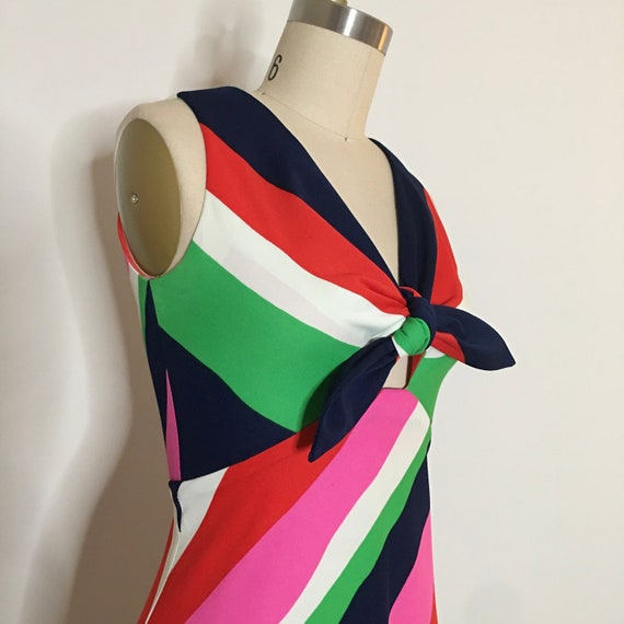 Vintage Young Dimensions Vintage Dress Mid Century