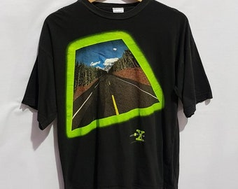 c2b1c05b6b9d Vintage 1994 The X Files black short sleeve t-shirt Size 11-12 Years Old