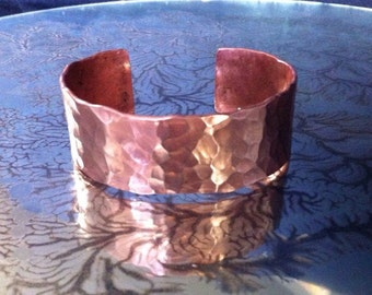 Small Textured Copper Cuff