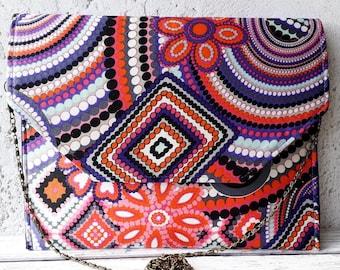 Handmade Retro Geometric Ethnic Clutch Bag Purse