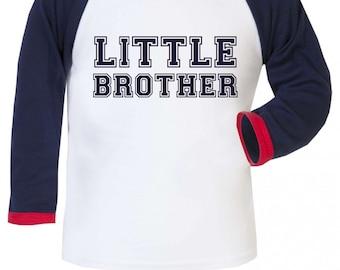 Little Brother Boys Baseball Long Sleeve Shirt