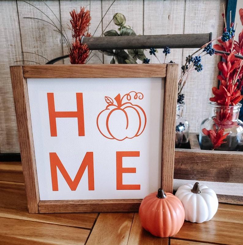 Pumpkin Patch Pumpkin Sign Home Sign Fall Sign