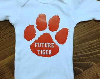 Tiger Onesie, Future Tiger, Tiger Shirt