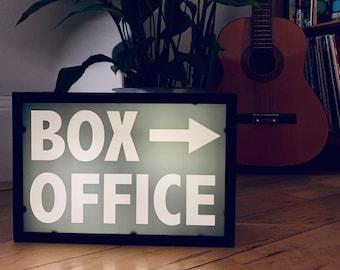 BOX OFFICE Illuminated LightBox