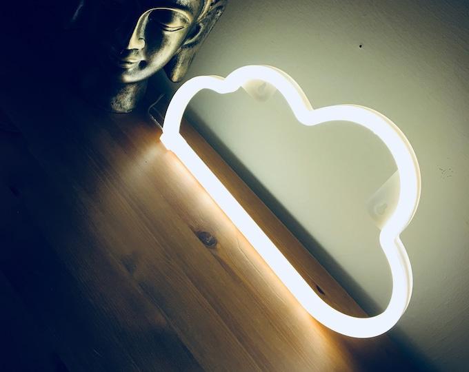 CLOUD Acrylic Neon Light - USB - Warm White
