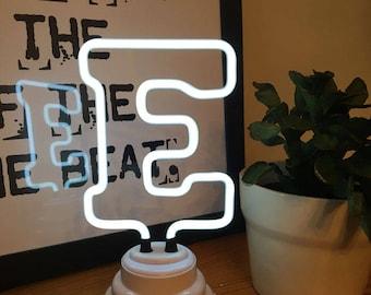 Mini Neon Letter Lights