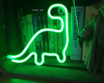 DINOSAUR Acrylic Neon Light - USB/Battery