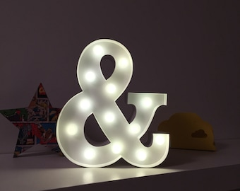 9 Inch LED Light - AMPERSAND (&)