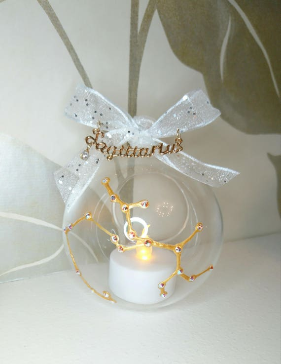 Christmas Baubles Home Decor Tealight Holder Candle