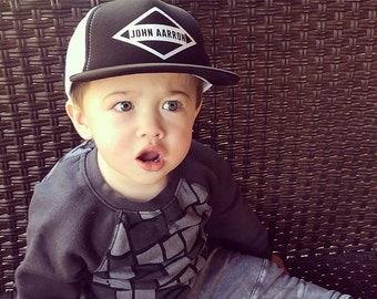 Personalized DIAMOND Kids Snapback Hat  896ac359bec