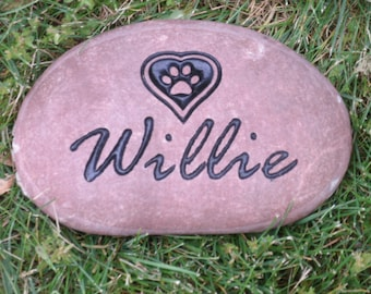Pet Name Rock Etsy