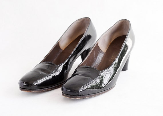 Vintage 60s Vivier | Patent Leather Pumps | 1960s