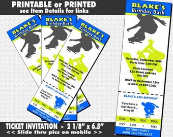 boxing birthday party invitations printable with printed etsy