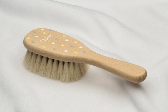 HAIR BRUSH PERSONALISED BABY GIFT BABY BRUSH AND COMB PERSONALISED BABY BRUSH