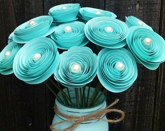 Tiffany Blue Origami Etsy