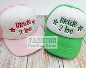 "Bridal Cap ""Bride 2 Be"" - Junggesellinnen Abschied"