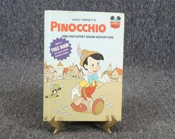 Walt Disney Pinocchio And His Puppet Show Adventure C. 1973