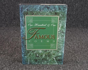 One Hundred & One Famous Poems C. 1958