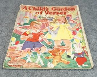 A Child's Garden Of Verses By Robert L. Stevenson C. 1941