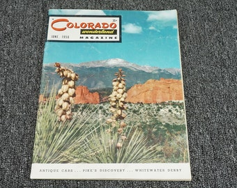 Colorado Wonderland Magazine June, 1956